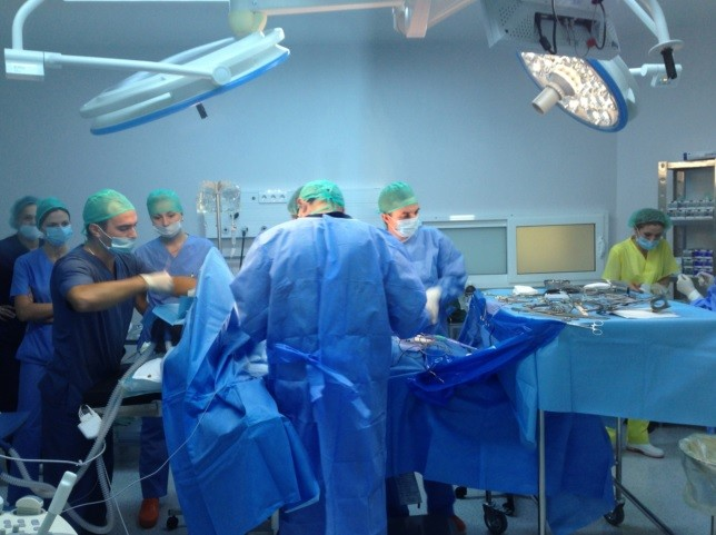 Interventii chirurgicale efectuate in cadrul Spitalului