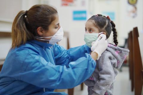 joaca copii in pandemie