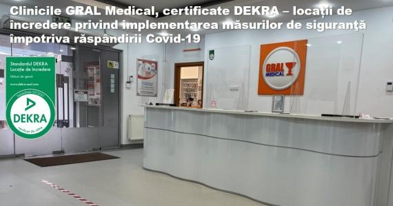GRAL Medical-prima clinica medicala privata certificata DEKRA
